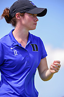 Leona Maguire (a)(IRL) warms up on the practice green before  Sunday's final round of the 72nd U.S. Women's Open Championship, at Trump National Golf Club, Bedminster, New Jersey. 7/16/2017.<br /> Picture: Golffile | Ken Murray<br /> <br /> <br /> All photo usage must carry mandatory copyright credit (&copy; Golffile | Ken Murray)