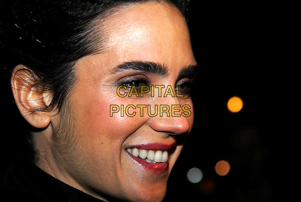 "JENNIFER CONNELLY.UK Film Premiere of ""Blood Diamond"",.Odeon Leicester Square, London, England, .January 23rd 2007..portrait headshot profile.CAP/IA.©Ian Allis/Capital Pictures"