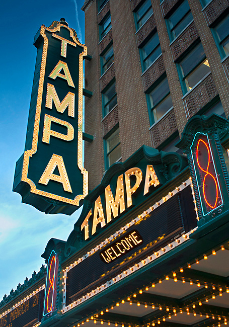 The Tampa Theatre And Office Building