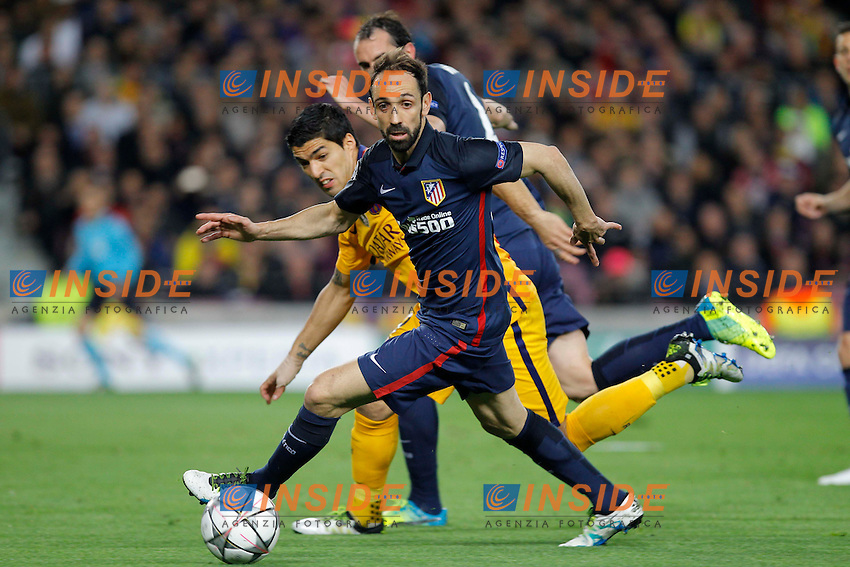 juanfran (atletico) <br /> Barcellona 05-04-2016 <br /> Football Calcio 2015/2016 Champions League <br /> Barcellona - Atletico Madrid Quarti di finale<br /> Foto Panoramic / Insidefoto <br /> ITALY ONLY