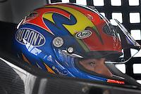 Apr 20, 2007; Avondale, AZ, USA; Nascar Nextel Cup Series driver Jeff Gordon (24) during practice for the Subway Fresh Fit 500 at Phoenix International Raceway. Mandatory Credit: Mark J. Rebilas