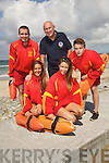 KEEPING WATCH: Banna lifeguards, Katie, Listowel , Michelle Breen, Banna, James O'Connell, Tralee, Brendan O'Connor (Water Safety Officer, Kerry County Council) James O'Callaghan, Ballyard,