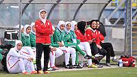 Monfalcone, Italy, April 26, 2016.<br /> Iran's head coach Mahini during USA v Iran football match at Gradisca Tournament of Nations (women's tournament). Monfalcone's stadium.<br /> © ph Simone Ferraro / Isiphotos