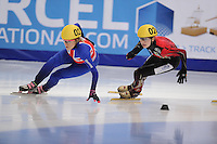 "SHORT TRACK: MOSCOW: Speed Skating Centre ""Krylatskoe"", 13-03-2015, ISU World Short Track Speed Skating Championships 2015, ©photo Martin de Jong"