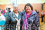 Helen Ashton (Killarney) and Marie Marshal (Currow) attending the Monster Bingo fundraiser for the Curraheen Community Room Extension Fund in the KDYS on Sunday.