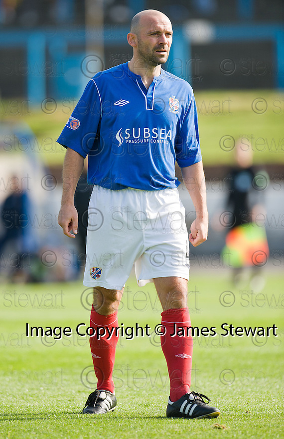 Cowdenbeath Player / Manager Colin Cameron ...