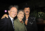 William Ivey Long and Randy's mom Elaine and Randy Jones (Village People) celebrates his marriage (this morning September 13, 2013) with a celebration at the 13th Annual Kings & Cowboys at DL in New York City, New York. Randy is also celebrating his birthday.  (Photo by Sue Coflin/Max Photos)