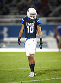 IMG Academy Ascenders Grant Delpit (10) during a game against the St. Frances Academy Panthers on November 12, 2016 at IMG Academy in Bradenton, Florida.  IMG defeated St. Frances 38-0.  (Mike Janes Photography)