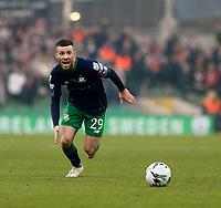 3rd November 2019; Aviva Stadium, Dublin, Leinster, Ireland; FAI Cup Final Football, Dundalk Football Club versus Shamrock Rovers; Jack Byrne chases the loose ball for Shamrock Rovers