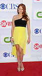 BEVERLY HILLS, CA - JULY 29: Amanda Righetti arrives at the CBS, Showtime and The CW 2012 TCA summer tour party at 9900 Wilshire Blvd on July 29, 2012 in Beverly Hills, California.