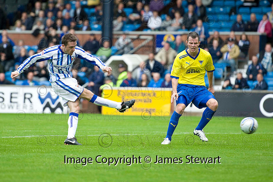 KILMARNOCK'S PAUL HEFFERNAN SCORES KILLIE'S SECOND