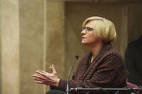 Incontro con il ministro della difesa Roberta Pinotti