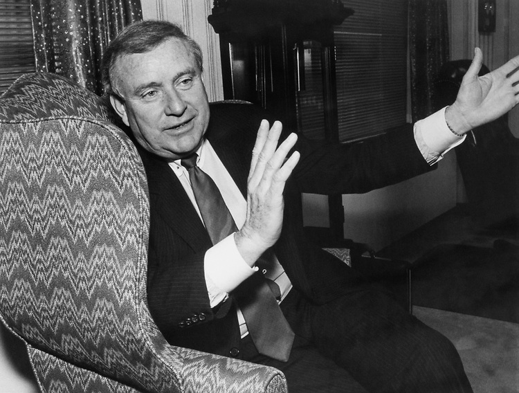 John H. Rousselot in April 1988. (Photo by Andrea Mohin/CQ Roll Call)