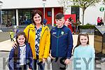 Danneka, Annette and John Horgam with Ellen O'Connor having fun at Kfest in Killorglin on Saturday