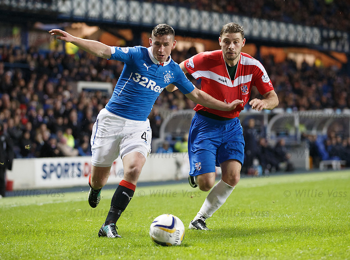 Fraser Aird on the wing