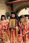 Israel, Jerusalem, the Feast of St. James at the Greek Orthodox Patriarchate