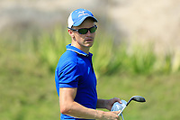 Daan Huizing (NED) during the second round of the NBO Open played at Al Mouj Golf, Muscat, Sultanate of Oman. <br /> 16/02/2018.<br /> Picture: Golffile | Phil Inglis<br /> <br /> <br /> All photo usage must carry mandatory copyright credit (&copy; Golffile | Phil Inglis)