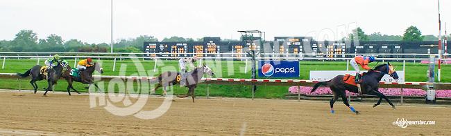 Broadax winning at Delaware Park on 7/8/15