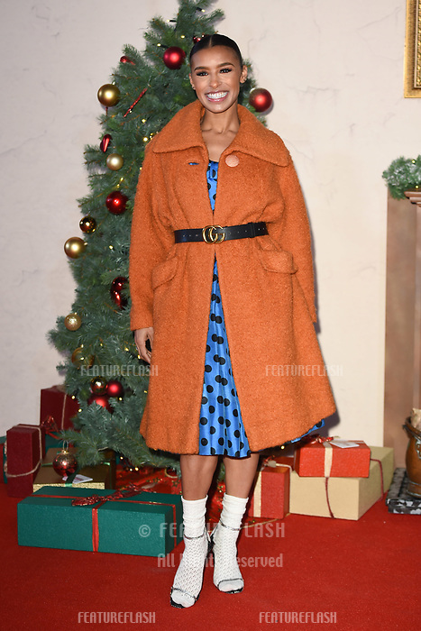 LONDON, UK. November 21, 2018: Melody Thornton at the &quot;Surviving Christmas with the Relatives&quot; premiere at the Vue Leicester Square, London.<br /> Picture: Steve Vas/Featureflash