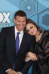 David Boreanaz & Emily Deschanel - Bones  - Fox Upfronts - May 16, 2016 at Wollman Rink, Central Park, New York City, New York. (Photo by Sue Coflin/Max Photos)