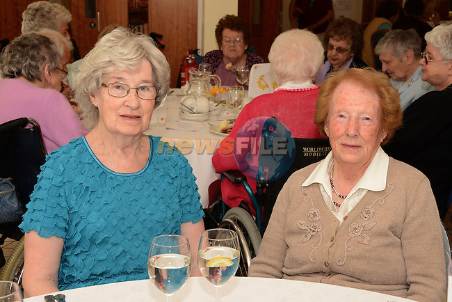 Miriam Fearon and Mary Devine at the Drogheda Community Services Day Care Summer Party.