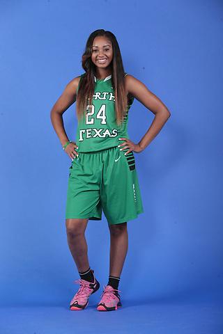 DENTON, TX - SEPTEMBER 24: North Texas Mean Green Basketball media day at UNT Coliseum in Denton on September 24, 2015 in Denton, Texas. (Photo by Rick Yeatts)