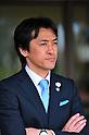 Motohiro Yamaguchi head coach (Yokohama FC),.MARCH 25, 2012 - Football /Soccer : 2012 J.LEAGUE Division 2 ,5th sec match between Yokohama FC 0-2 Ventforet Kofu at NHK Spring Mitsuzawa Football Stadium, Kanagawa, Japan. (Photo by Jun Tsukida/AFLO SPORT) [0003].