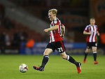 Mark Duffy of Sheffield Utd during the League One match at Bramall Lane Stadium, Sheffield. Picture date: September 27th, 2016. Pic Simon Bellis/Sportimage