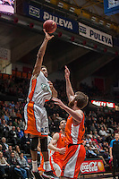 VALENCIA, SPAIN - December 2: Augustine Rubit during EUROCUP match between Valencia Basket Club and Ratiopharm ULM at Fonteta Stadium on December 2, 2015
