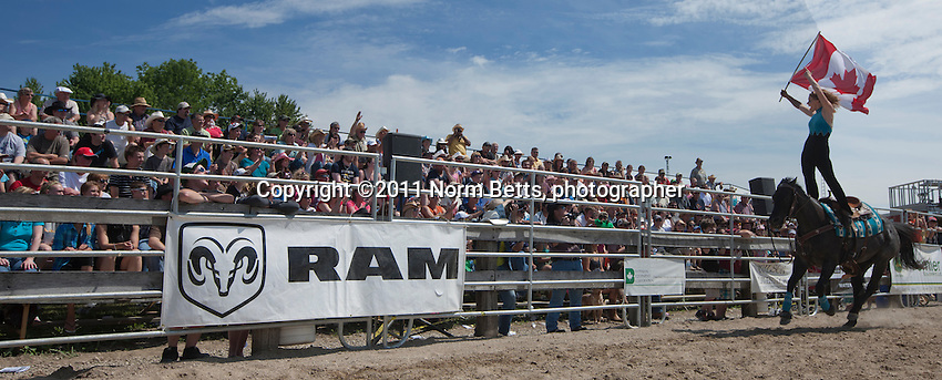 Milverton Rodeo - .photographer: ©Norm Betts, 2011 -  .416 460 8743 -.normbetts@canadianphotographer.com