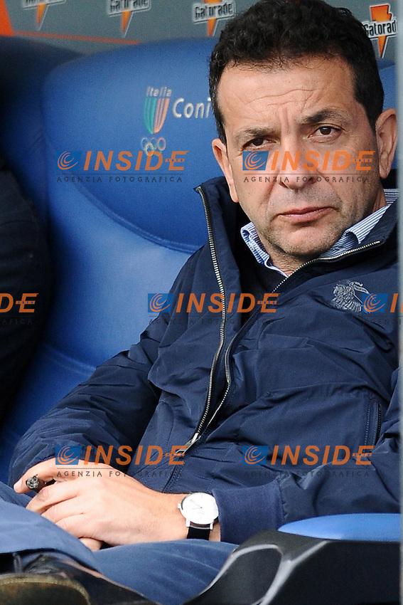 Presidente del Catania Antonino Pulvirenti.30/03/2013 Roma.Stadio Olimpico.Football Calcio 2012 / 2013 .Campionato di calcio serie A.Lazio vs Catania 2-1.Foto Insidefoto / Antonietta Baldassarre.