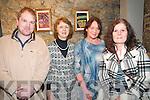 Brendan Shine Concert : Attending the Brendan Shine concert in St John's Arts Centre , Listowel on Friday night last were Mathew McMahon, Noreen McEvoy, Carmel Nolan & Martine Murphy.