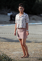 Pictured: South Yorkshire Police press officer Hannah Bryan in Kos, Greece. Monday 10 October 2016<br />