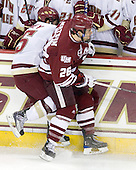 Joe Whitney (BC - 15), Brett Watson (UMass - 26) - The Boston College Eagles defeated the University of Massachusetts-Amherst Minutemen 2-1 (OT) on Friday, February 26, 2010, at Conte Forum in Chestnut Hill, Massachusetts.
