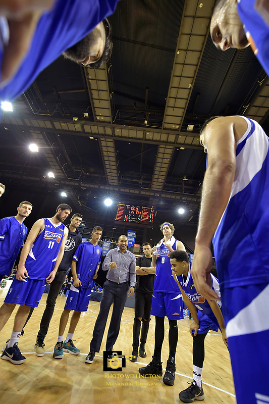 NBL - Wellington Saints v Canterbury Rams   at TSB Bank Arena, Wellington, New Zealand on Saturday 8 April 2017.<br /> Photo by Masanori Udagawa<br /> www.photowellington.photoshelter.com.
