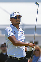 Satoshi Kodaira (JPN) watches his tee shot on 2 during round 2 of the AT&amp;T Byron Nelson, Trinity Forest Golf Club, at Dallas, Texas, USA. 5/18/2018.<br /> Picture: Golffile | Ken Murray<br /> <br /> <br /> All photo usage must carry mandatory copyright credit (&copy; Golffile | Ken Murray)