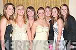 Ballybunion girls having a great time at the Beale GAA Social in The Listowel Arms Hotel on Friday night were from l-r Elizabeth Clancy, Brenda and Claire O'Connell, Sarah Griffin, Aoife Murphy, Emma Hanrahan and Eimer Murphy.   Copyright Kerry's Eye 2008