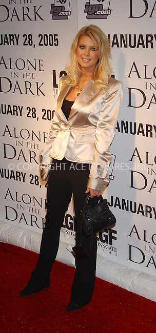 WWW.ACEPIXS.COM . . . . . ....NEW YORK, JANUARY 26, 2005....Tara Reid at the 'Alone in the Dark' special release party.....Please byline: ACE006 - ACE PICTURES.. . . . . . ..Ace Pictures, Inc:  ..Alecsey Boldeskul (646) 267-6913 ..Philip Vaughan (646) 769-0430..e-mail: info@acepixs.com..web: http://www.acepixs.com