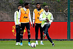 Paul Pogba of Manchester United during the Manchester United training session at the Carrington Training Centre, Manchester. Picture date: May 19th 2017. <br /> Pic credit should read: Matt McNulty/Sportimage