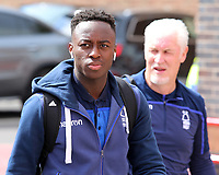 Nottingham Forest's Arvin Appiah arrives at the ground<br /> <br /> Photographer David Shipman/CameraSport<br /> <br /> The EFL Sky Bet Championship - Nottingham Forest v Blackburn Rovers - Saturday 13th April 2019 - The City Ground - Nottingham<br /> <br /> World Copyright © 2019 CameraSport. All rights reserved. 43 Linden Ave. Countesthorpe. Leicester. England. LE8 5PG - Tel: +44 (0) 116 277 4147 - admin@camerasport.com - www.camerasport.com