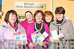 Staff of Killorglin Family Resource Centre are delighted that the Government has not cut funding to FRC around the county who can now concentrate on providing the necessary services for families in Kerry. .L-R : Kathleen Bailey, Noelle O'Sullivan, Margaret Wrenn, Margaret Mangan and Kathleen Morris.