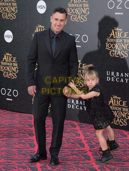 Carey Hart &amp; duaghter Willow Sage at The Premiere Of Disney's &quot;Alice Through The Looking Glass&quot; held at The El Capitan Theatre  in Hollywood, California on May 23,2016                                                                                <br /> CAP/DVS<br /> &copy;DVS/Capital Pictures
