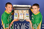 Kieran Donnehy and Darragh O'Se Lee STrand Products Milk and Orange Juice