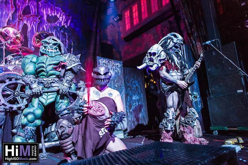 Gwar performs at the House of Blues in New Orleans, LA on October 24, 2014.