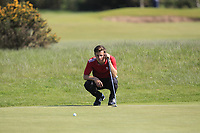 Matthew Jordan (Royal Liverpool) on the 2nd green during Round 4 of the Lytham Trophy held at Royal Lytham &amp; St. Annes Golf Club on Sunday 6th May 2018.<br /> Picture:  Thos Caffrey / www.golffile.ie<br /> <br /> All photo usage must carry mandatory copyright credit (&copy; Golffile | Thos Caffrey)