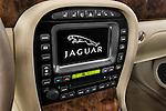 Stereo audio system detail of a 2008 Jaguar XJ Sedan