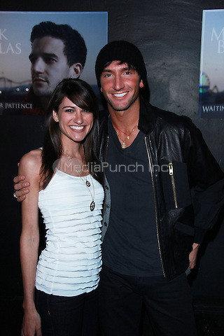 Evan Lysacek attends 'An Evening With Mark Ballas' at The Mint  in Los Angeles, California. April 12, 2010. Credit: Dennis Van Tine/MediaPunch