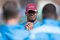 Shannon Gabriel (West Indies) during West Indies vs New Zealand, ICC World Cup Warm-Up Match Cricket at the Bristol County Ground on 28th May 2019