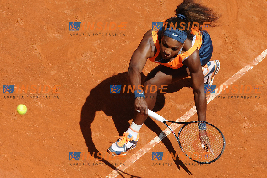 the winner Serena Williams  .Roma 19/05/2013 Foro Italico .Tennis Internazionali d'Italia 2013 .Foto Antonietta Baldassarre Insidefoto