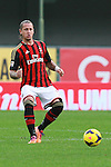Philippe Mexes in action during the Serie A football match Chievo Verona vs AC Milan at Verona, on November 10, 2013.